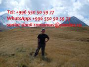 Guide,  driver in Kyrgyzstan,  tourism,  travel,  excursions,  hiking